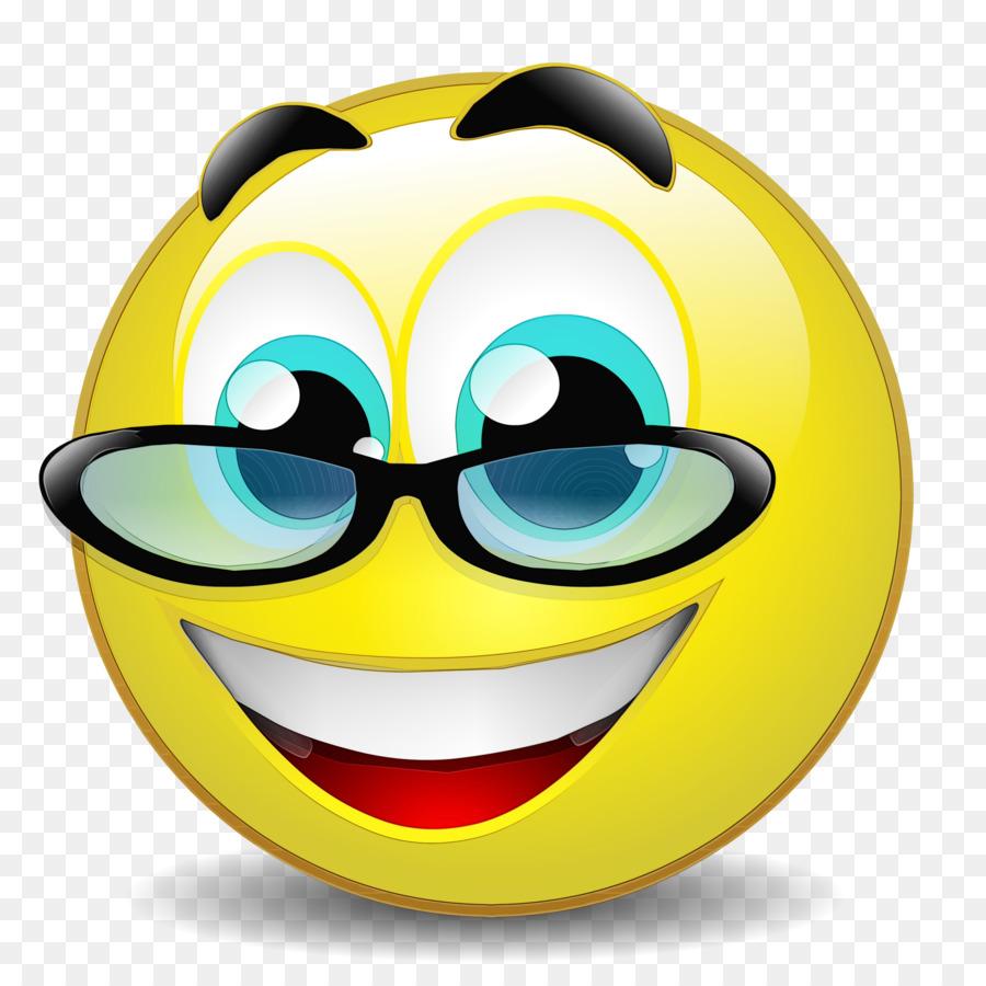 Descarga gratuita de Gafas, Amarillo, Sonrisa imágenes PNG
