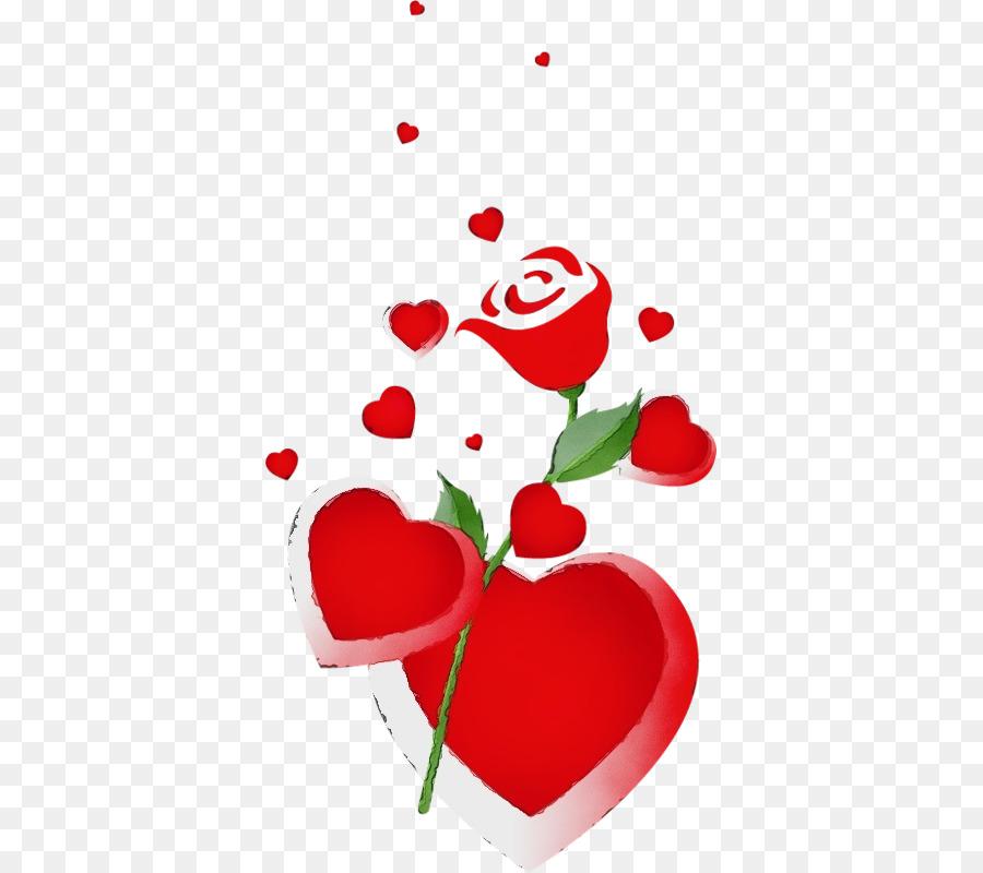 Descarga gratuita de Rojo, Corazón, Planta imágenes PNG