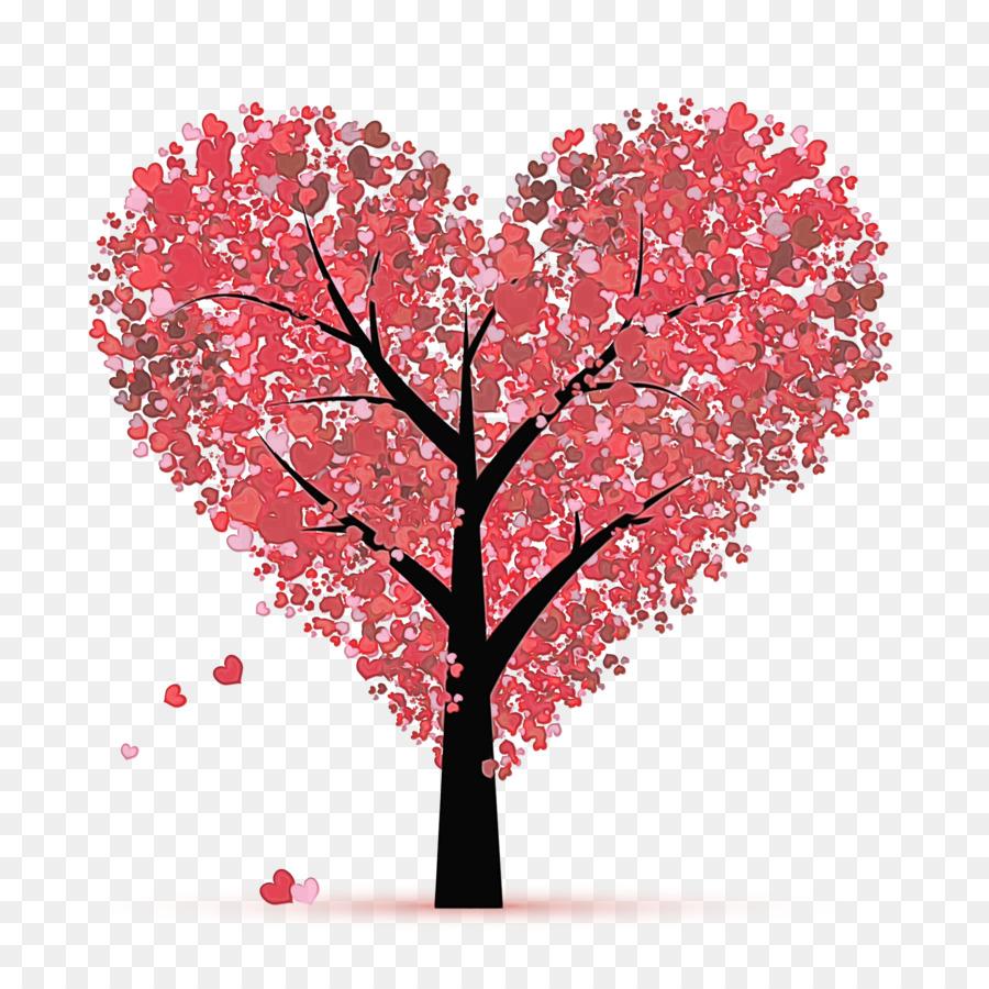 Descarga gratuita de árbol, Rojo, Rosa imágenes PNG