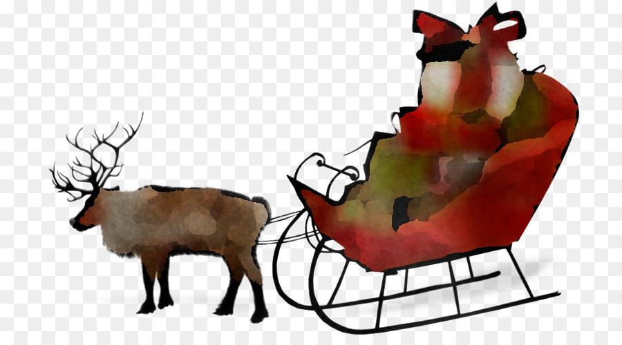 Descarga gratuita de Los Ciervos, Santa Claus, Animación Imágen de Png