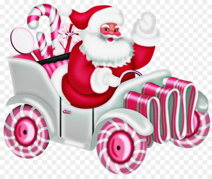 Descarga gratuita de Santa Claus, Rosa, Vehículo imágenes PNG