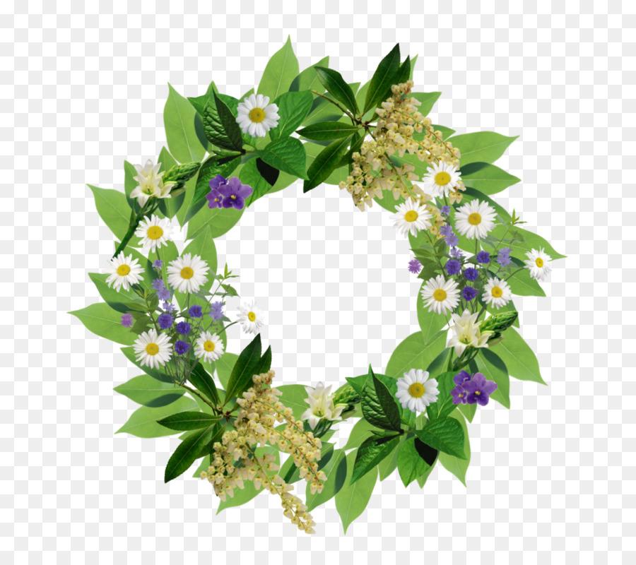 Descarga gratuita de Flor, Corona, Hoja imágenes PNG