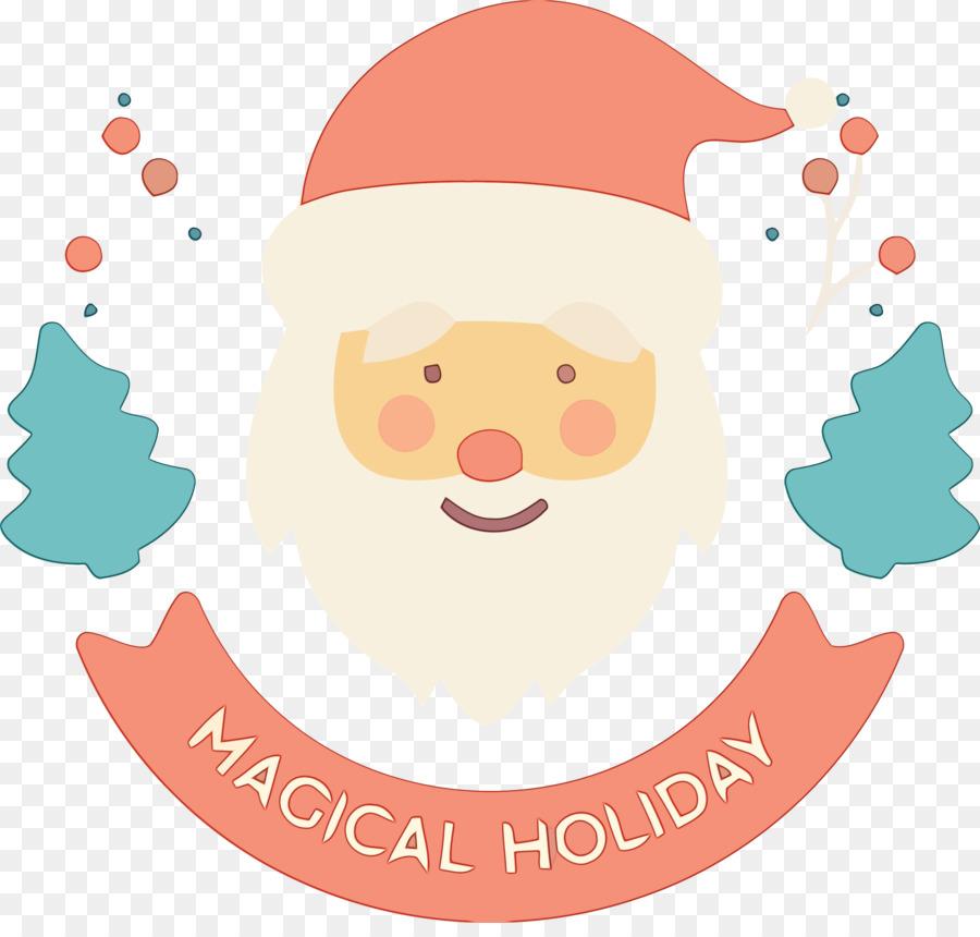 Descarga gratuita de Santa Claus, Sonrisa, La Navidad imágenes PNG