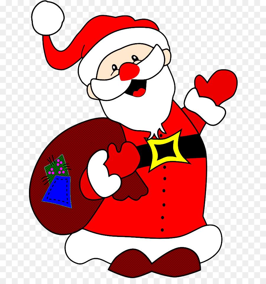 Descarga gratuita de Rojo, Santa Claus, La Navidad Imágen de Png