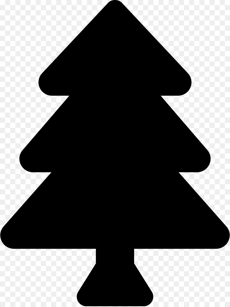 Descarga gratuita de árbol De Navidad, árbol, Línea Imágen de Png