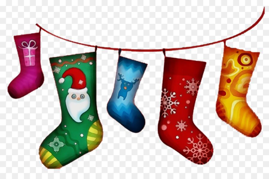 Descarga gratuita de Calcetín De Navidad, Decoración De La Navidad, Calzado imágenes PNG