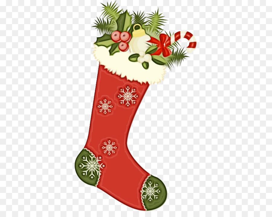 Descarga gratuita de Decoración De La Navidad, Calcetín De Navidad, La Navidad Imágen de Png