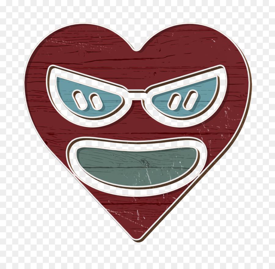 Descarga gratuita de Corazón, Gafas, Boca imágenes PNG