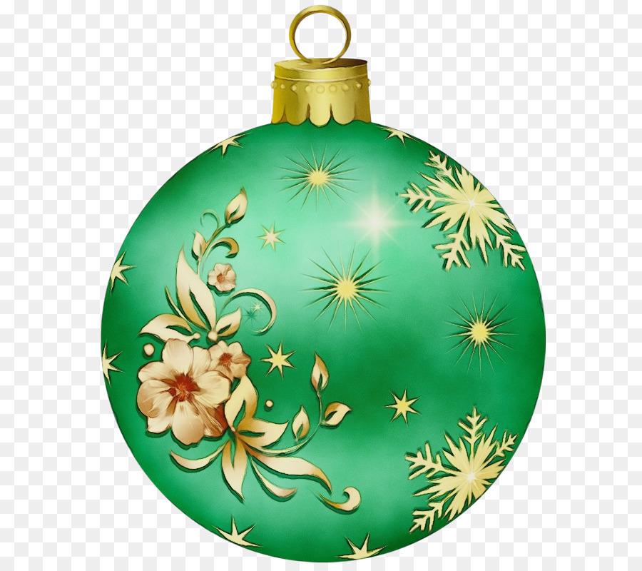 Descarga gratuita de Adorno De Navidad, Decoración, Verde imágenes PNG
