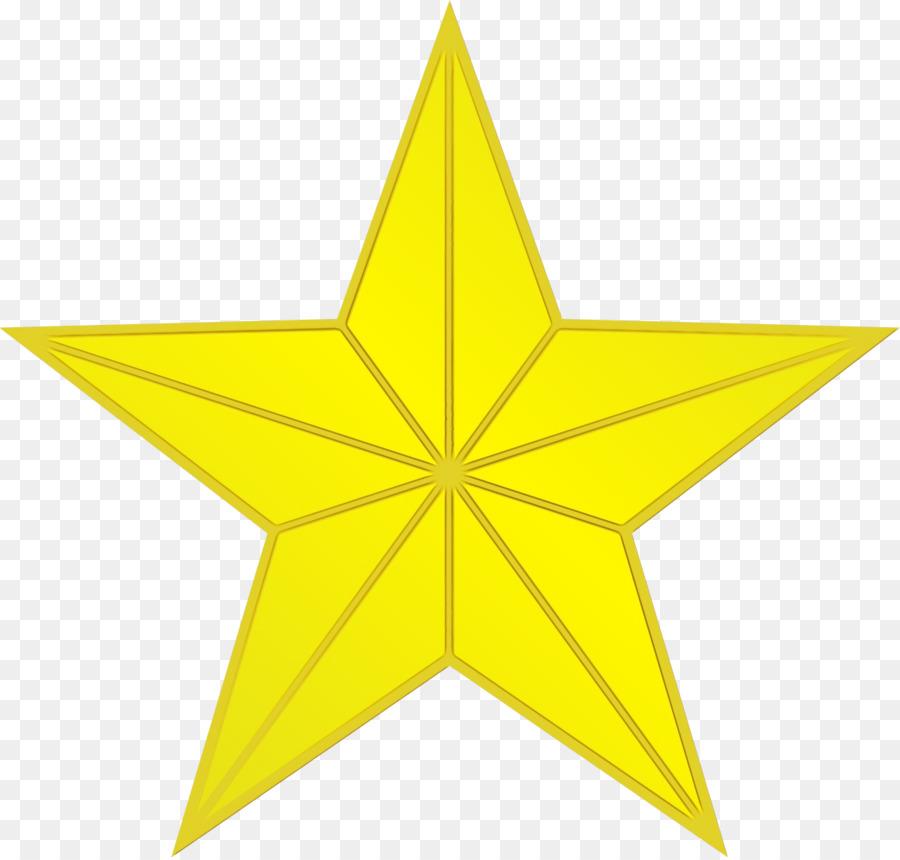 Descarga gratuita de Amarillo, Estrella, Triángulo imágenes PNG