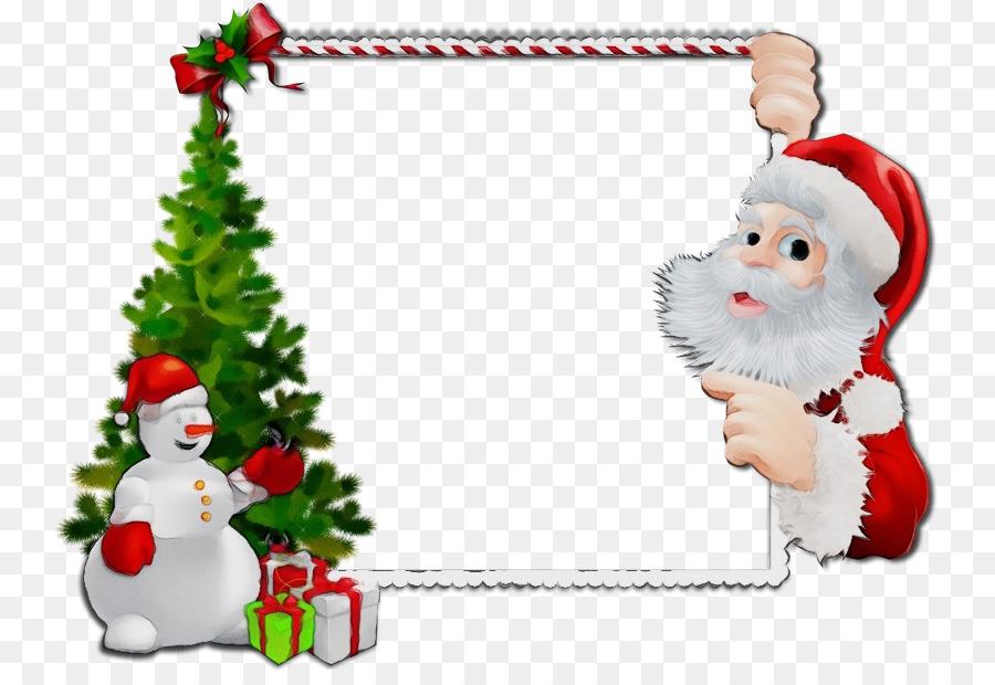 Descarga gratuita de La Navidad, Santa Claus, Marco De Imagen Imágen de Png