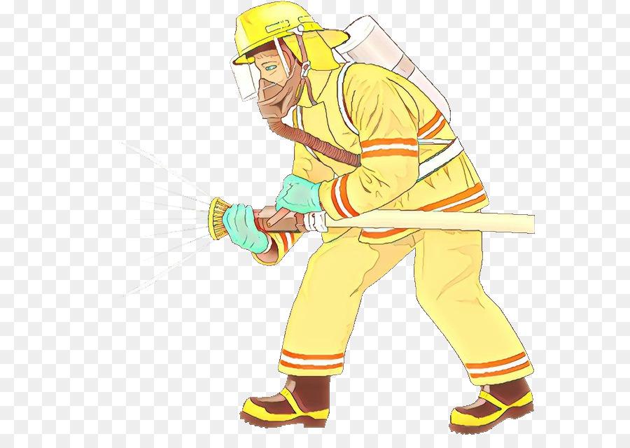 Descarga gratuita de Amarillo, Trabajador De La Construcción, Bombero imágenes PNG