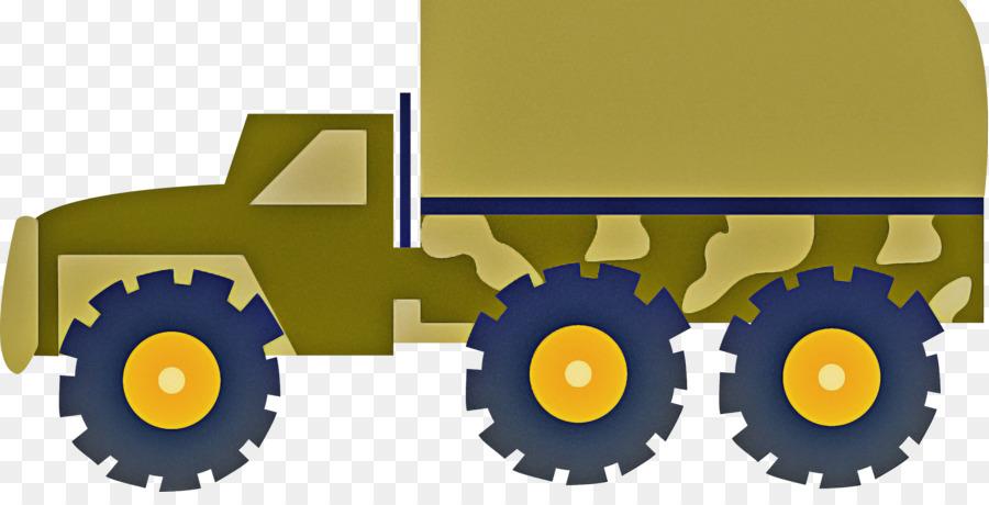 Descarga gratuita de Amarillo, Tractor, Engranaje imágenes PNG
