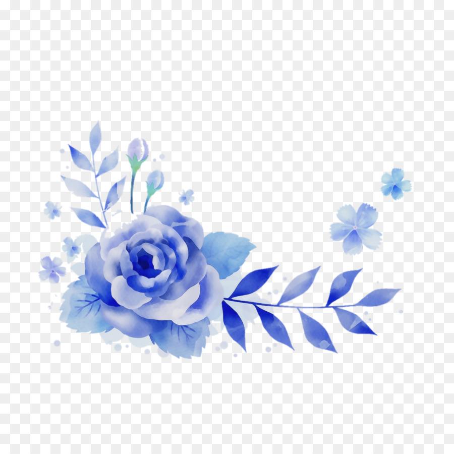 Descarga gratuita de Azul, Rosa Azul, Flor Imágen de Png