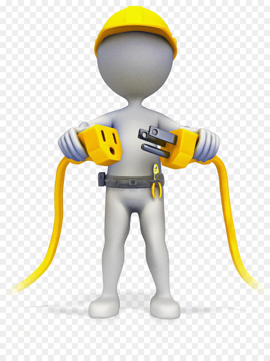 Descarga gratuita de Trabajador De La Construcción, Animación, Electricista imágenes PNG