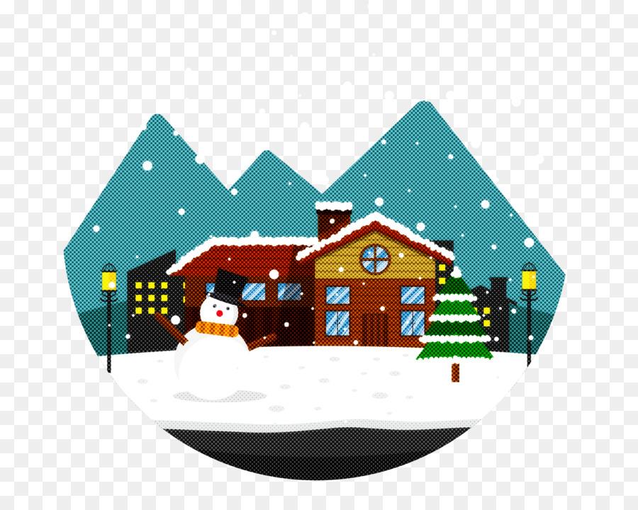 Descarga gratuita de Casa, Invierno, La Nieve Imágen de Png