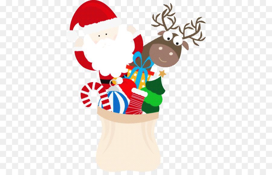 Descarga gratuita de La Navidad, Los Ciervos, Santa Claus Imágen de Png