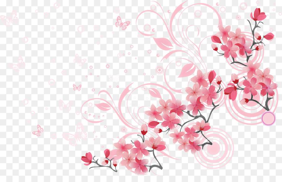 Descarga gratuita de Rosa, Flor, De Los Cerezos En Flor imágenes PNG