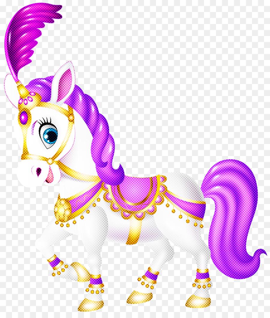 Descarga gratuita de Animal Figura, Unicornio, Violeta imágenes PNG