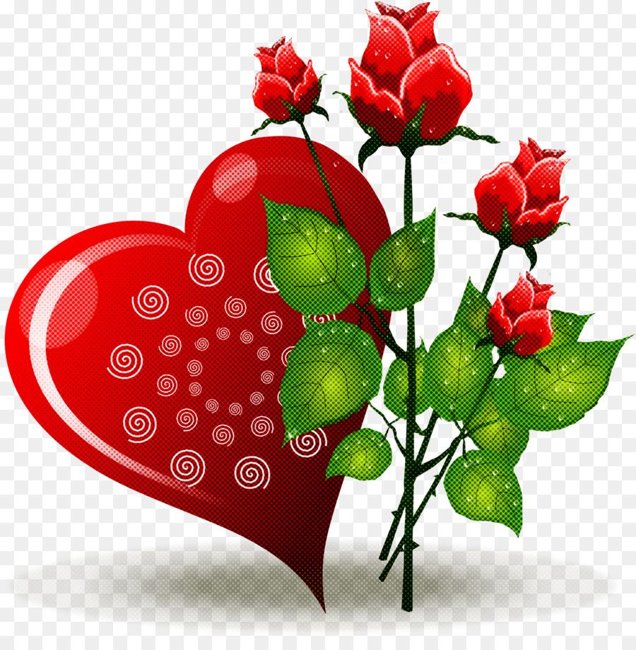 Descarga gratuita de Flor, Rojo, Corazón imágenes PNG