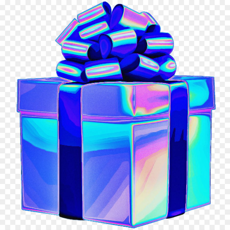 Descarga gratuita de Azul Cobalto, Azul, Presente imágenes PNG