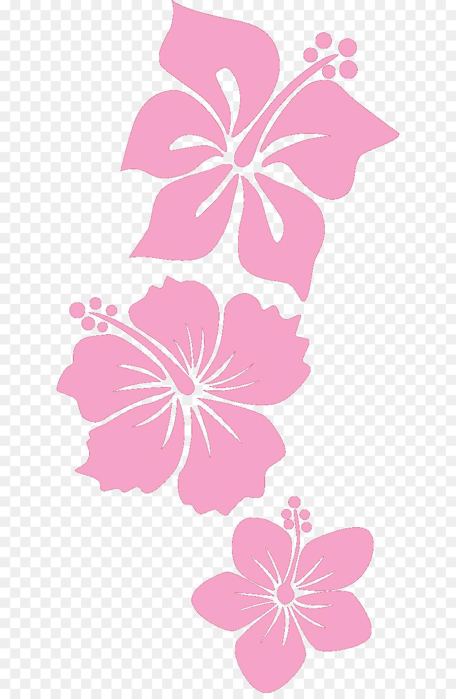 Descarga gratuita de Hibiscus Hawaiian, Rosa, Pétalo Imágen de Png