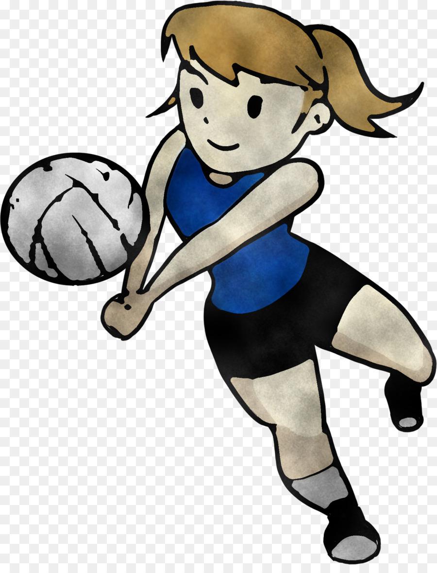 Descarga gratuita de Balón De Fútbol, Jugador De Voleibol, Patada De Fútbol imágenes PNG