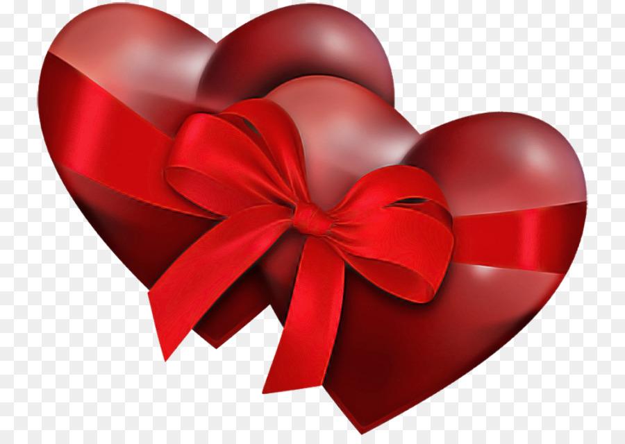 Descarga gratuita de Rojo, Corazón, La Cinta imágenes PNG