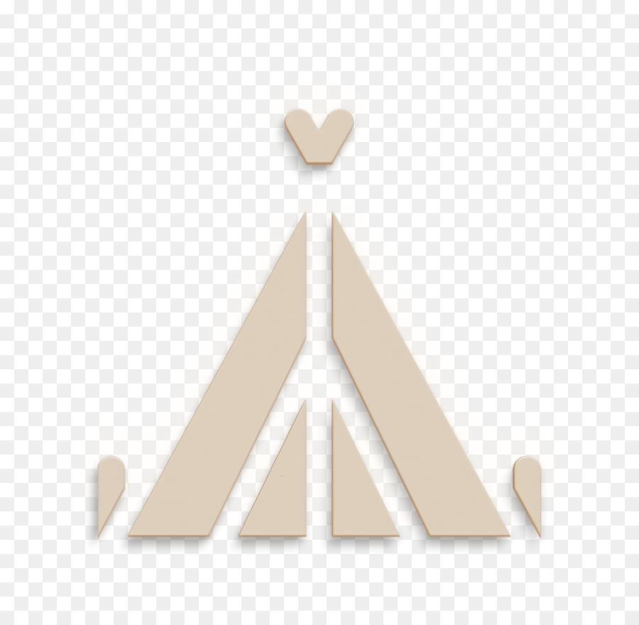 Descarga gratuita de Logotipo, Triángulo, Beige Imágen de Png