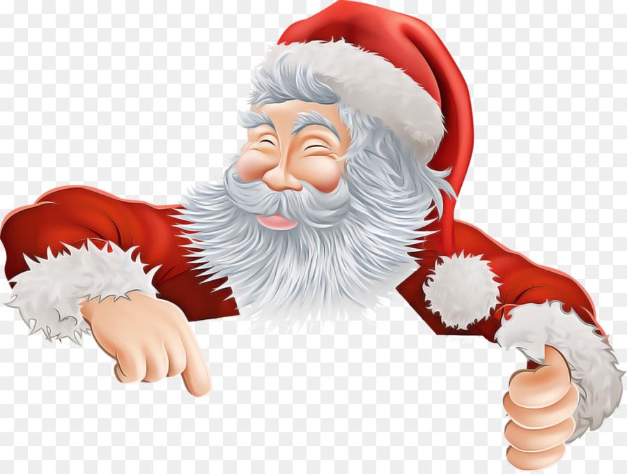 Descarga gratuita de Santa Claus, La Navidad, El Vello Facial Imágen de Png