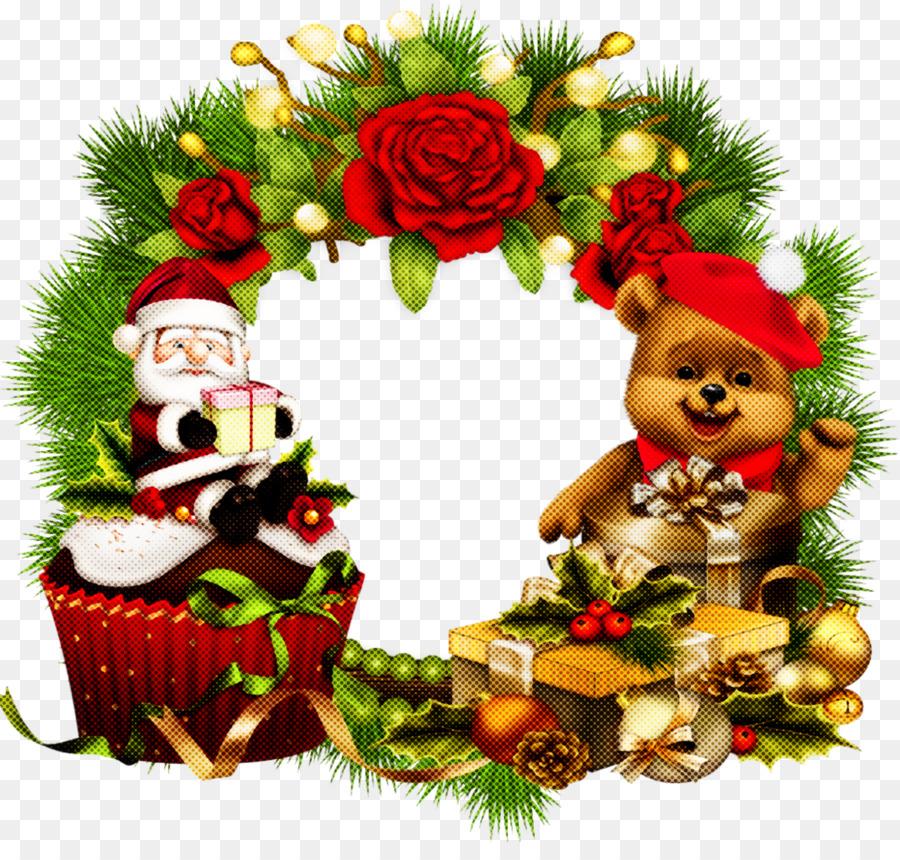 Descarga gratuita de Decoración De La Navidad, La Navidad, Corona Imágen de Png