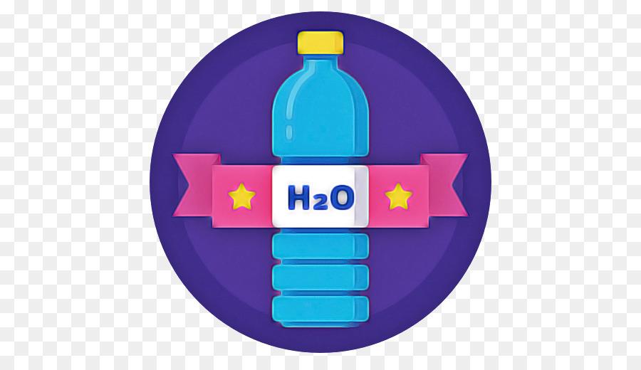 Descarga gratuita de Botella De Agua, Botella De Plástico, Violeta Imágen de Png