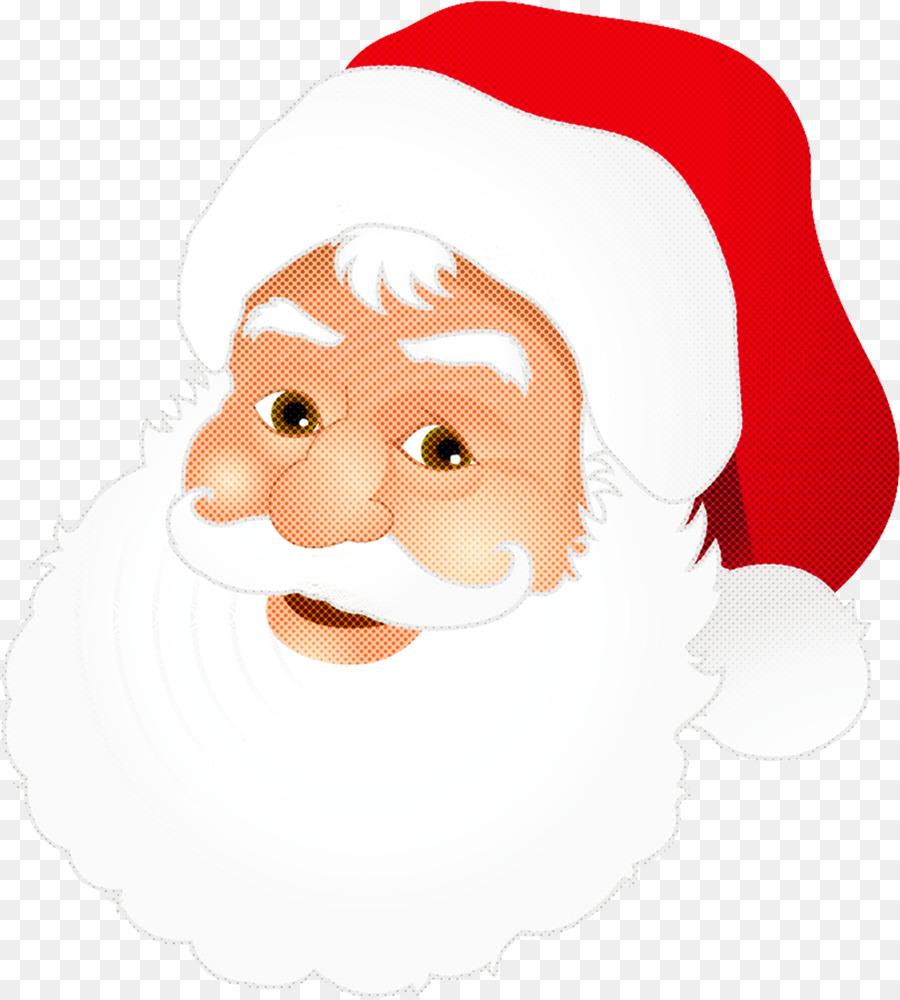 Descarga gratuita de Santa Claus, El Vello Facial, Sonrisa imágenes PNG