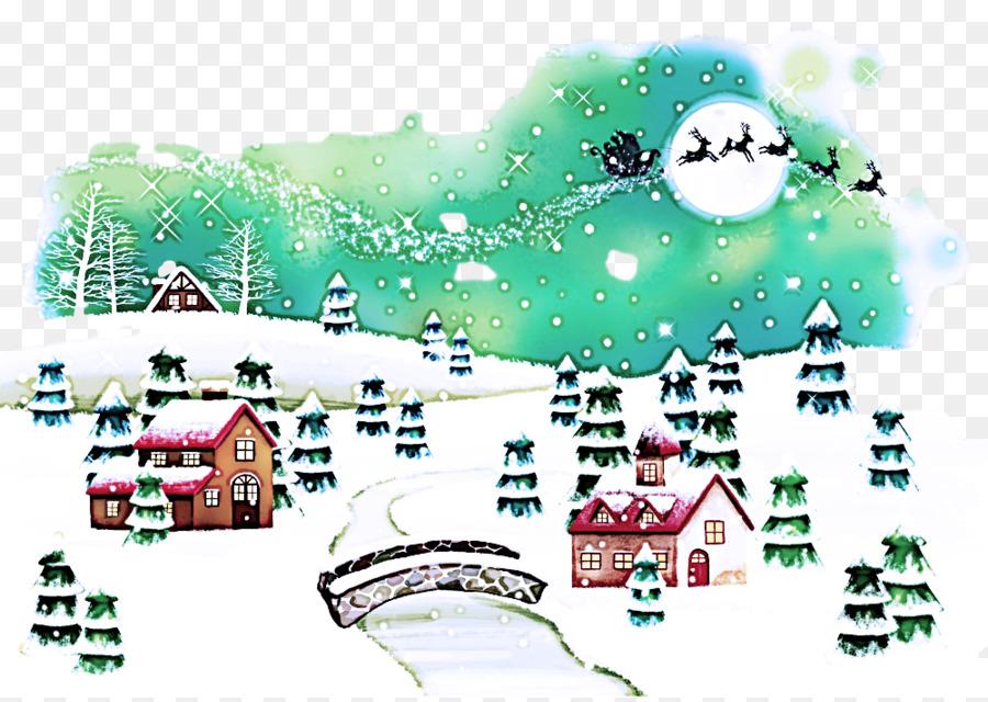 Descarga gratuita de La Nieve, Invierno, La Víspera De Navidad Imágen de Png
