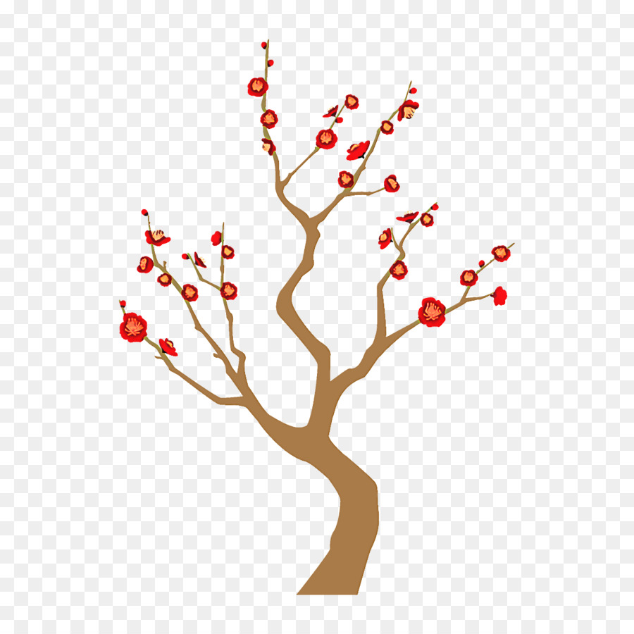 Descarga gratuita de Rama, Rojo, árbol imágenes PNG