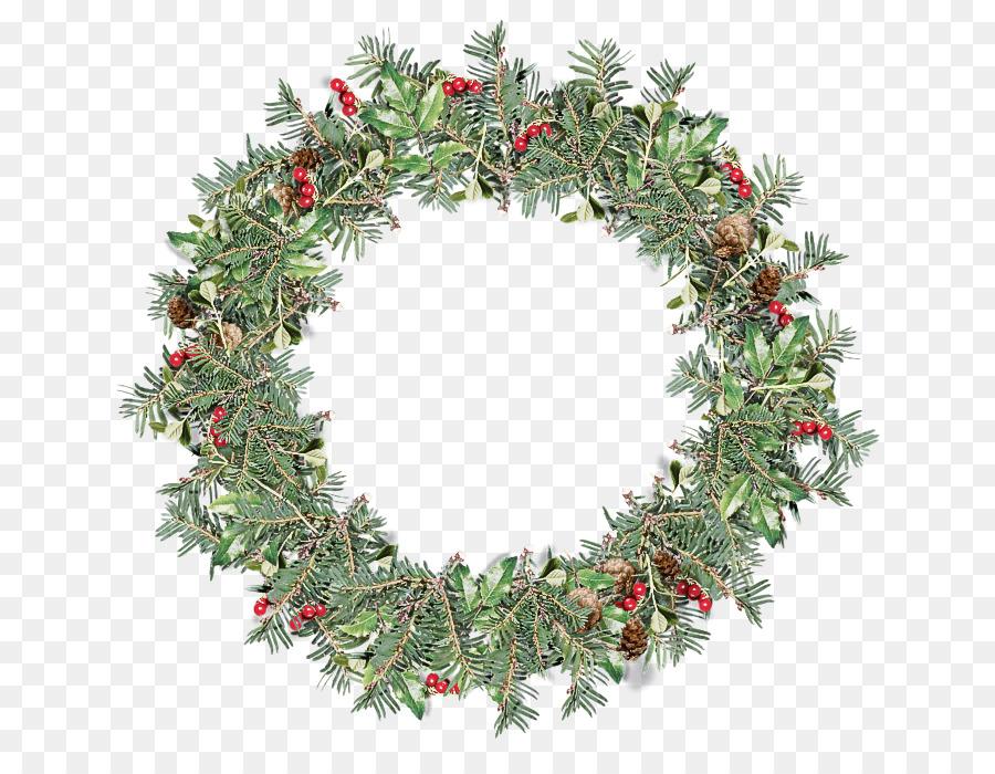 Descarga gratuita de Decoración De La Navidad, Corona, Hoja Imágen de Png