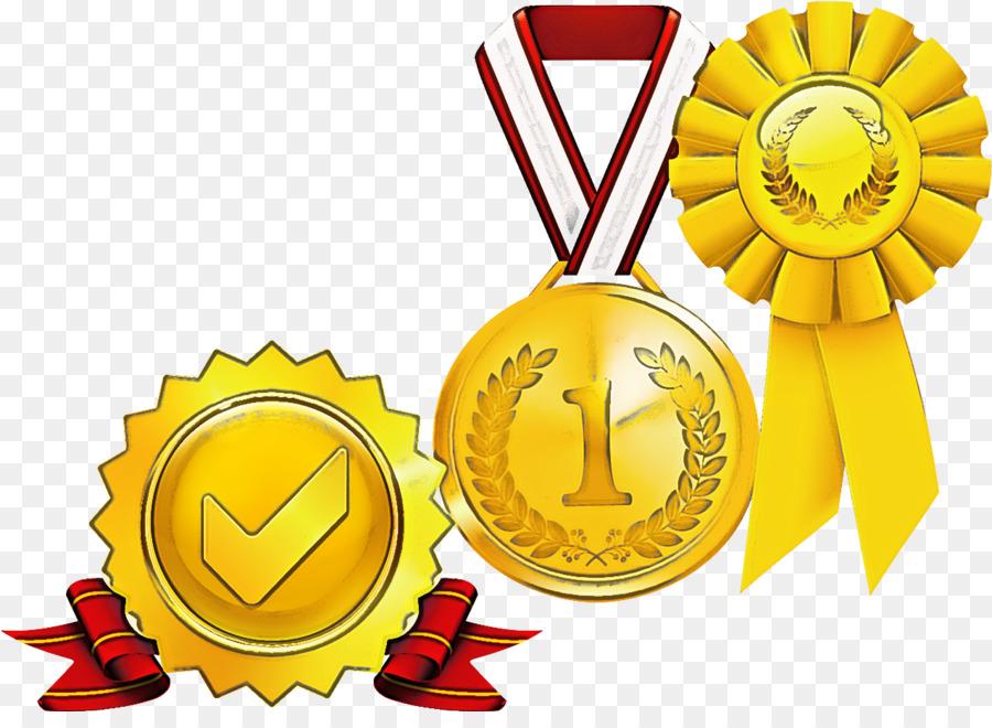Descarga gratuita de Medalla, Medalla De Oro, Amarillo imágenes PNG