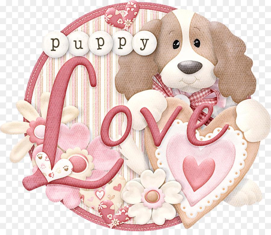 Descarga gratuita de Rosa, Perro, Corazón imágenes PNG