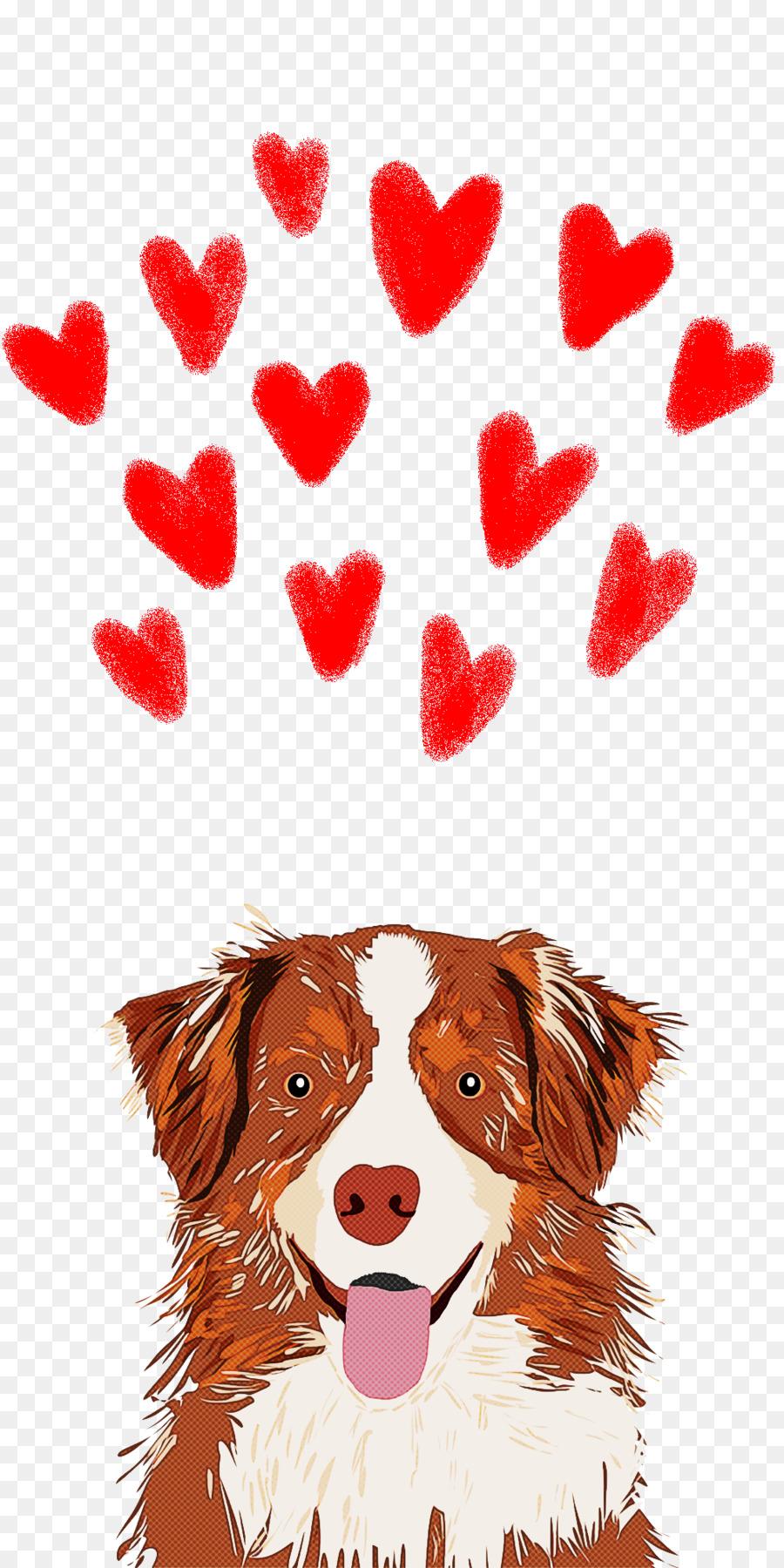 Descarga gratuita de Perro, Corazón, El Amor imágenes PNG