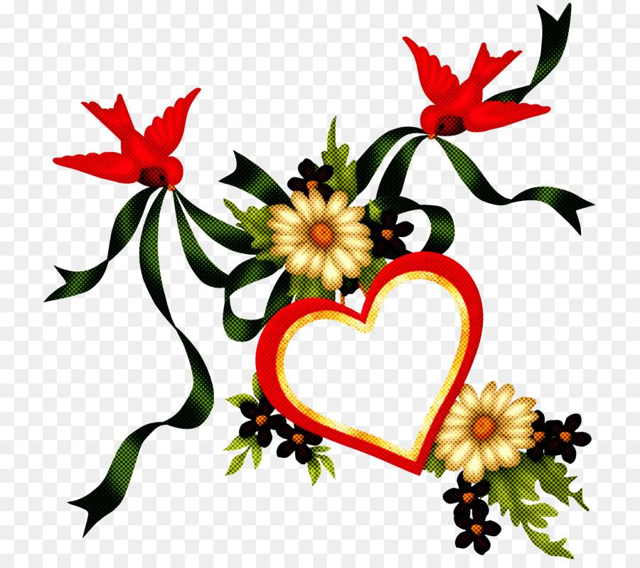 Descarga gratuita de Corazón, Flor, Planta imágenes PNG
