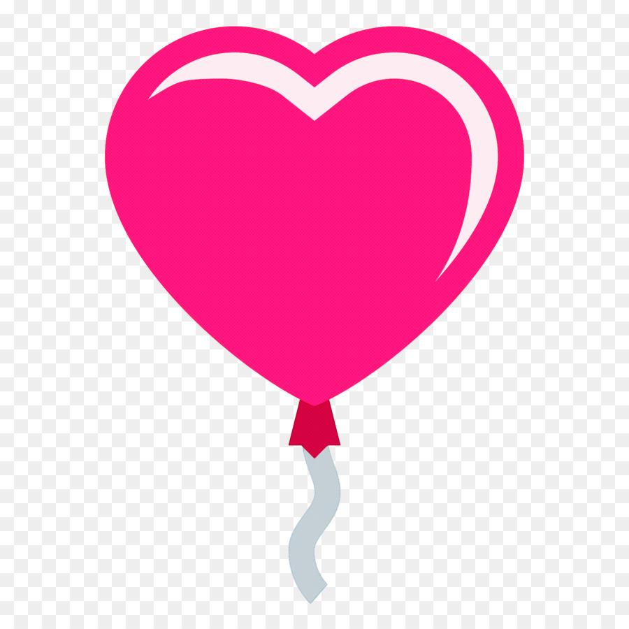 Descarga gratuita de Corazón, Rosa, Globo Imágen de Png