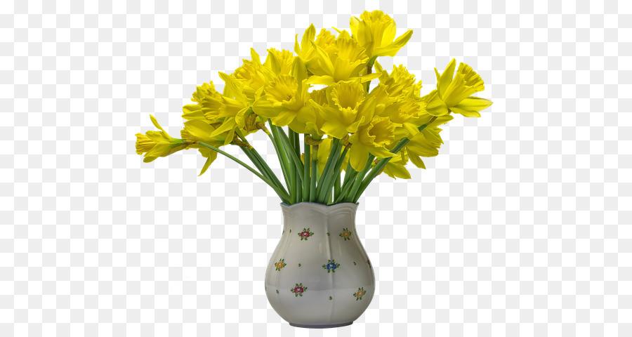 Descarga gratuita de Flor, Florero, Amarillo Imágen de Png
