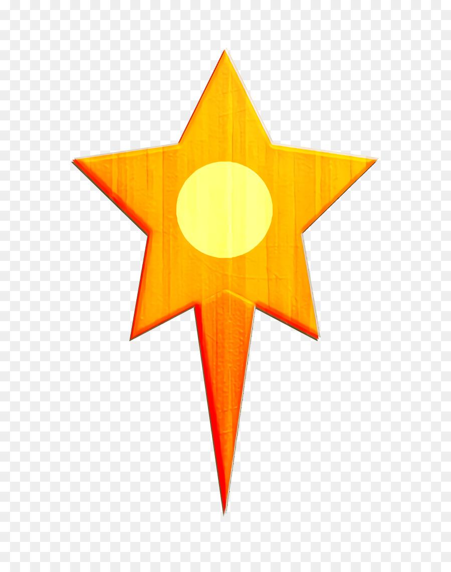 Descarga gratuita de Naranja, Amarillo, Estrella Imágen de Png