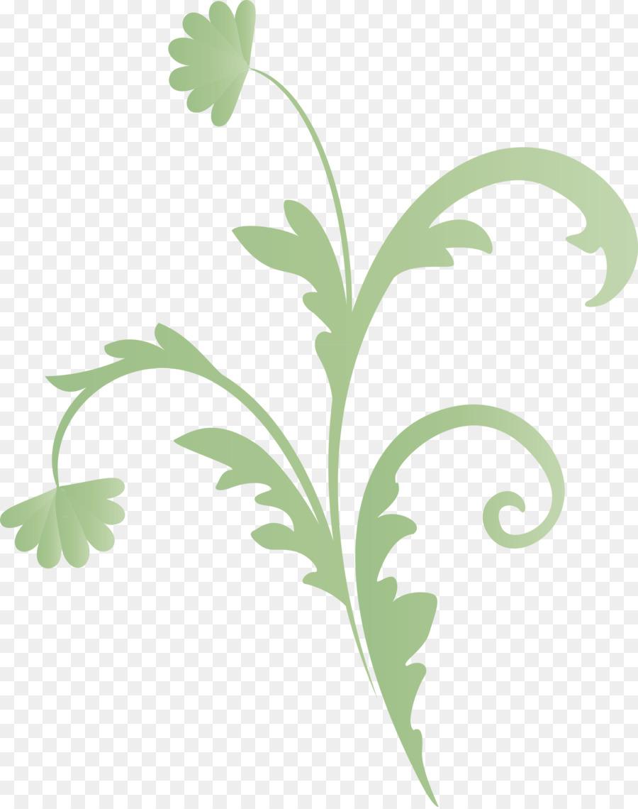 Descarga gratuita de Hoja, Flor, Verde imágenes PNG