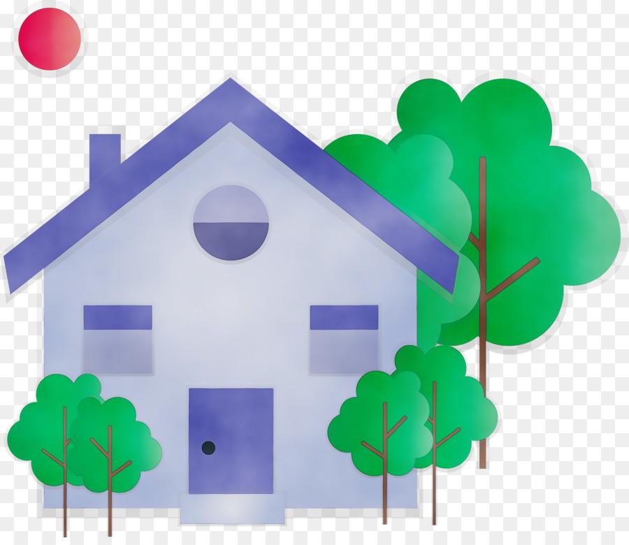 Descarga gratuita de Verde, Casa imágenes PNG