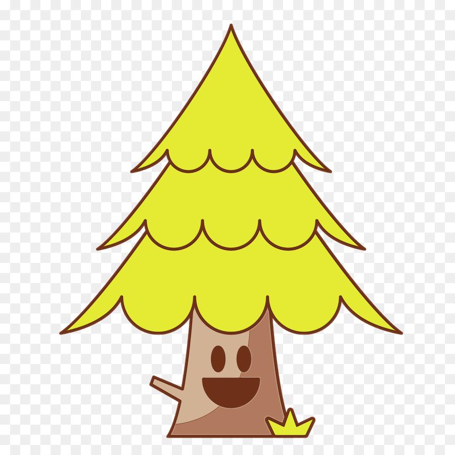 Descarga gratuita de Amarillo, árbol, árbol De Navidad imágenes PNG