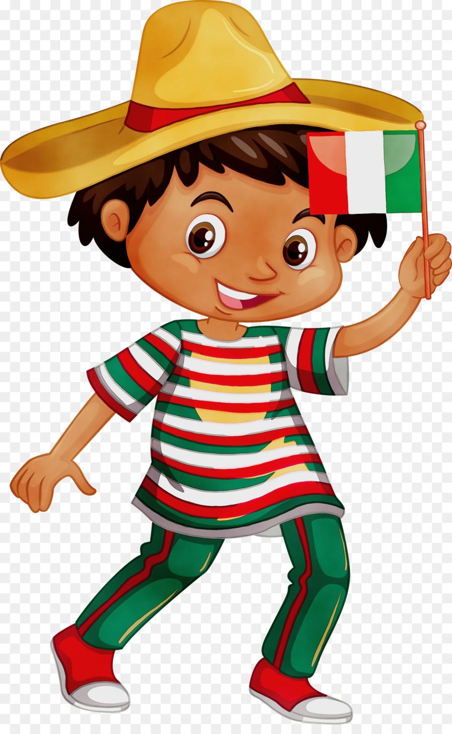 Descarga gratuita de México, Sombrero, Carácter Imágen de Png