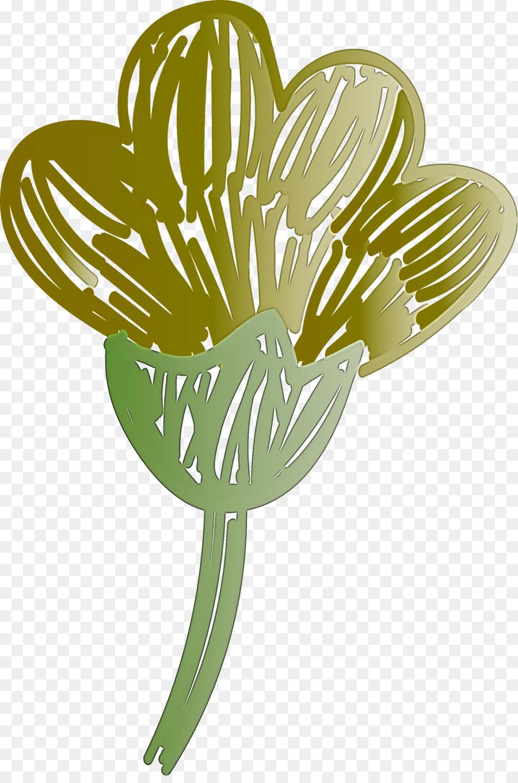 Descarga gratuita de Hoja, Tallo De La Planta, Flor imágenes PNG