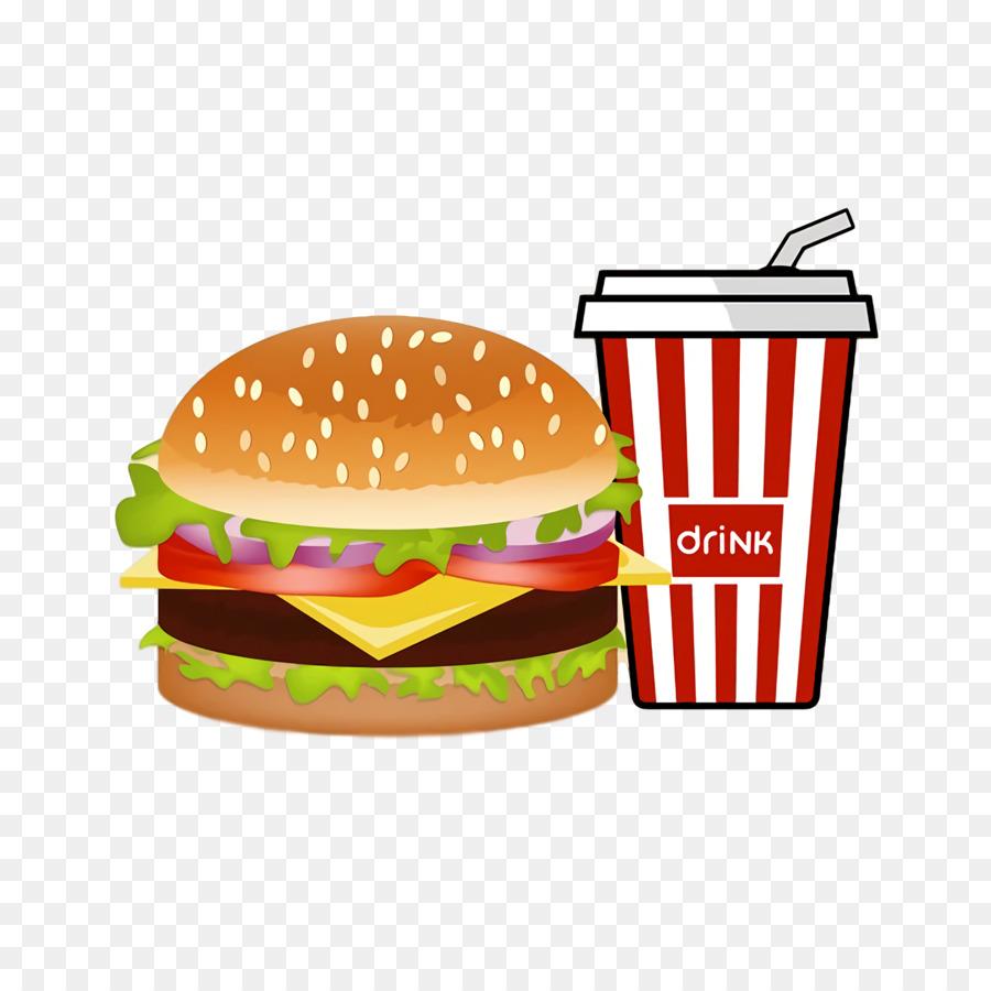 Descarga gratuita de Hamburguesa Con Queso, Refresco, Cola Imágen de Png