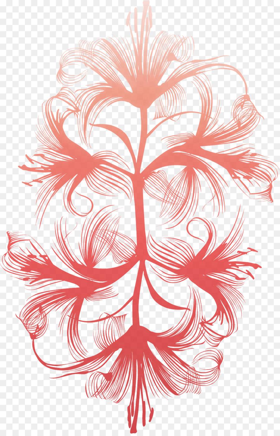 Descarga gratuita de Dibujo, Araña Roja Lily, Animación Imágen de Png